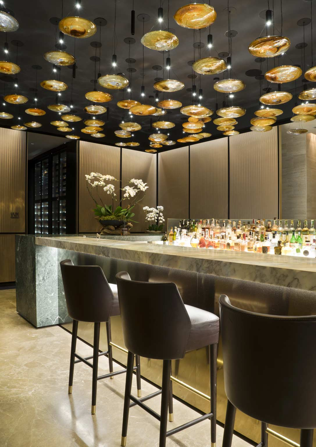 Mio Bar and Vun Restaurant | Park Hyatt | Rossi Bianchi lighting design