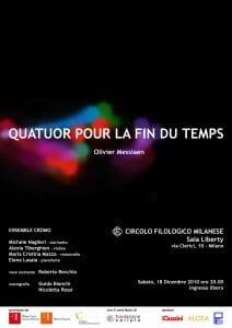 Quatuor pour la Fin du Temps | O. Messiaen